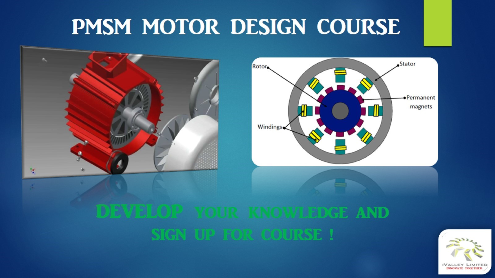 Pmsm Motor Design Course Ivalley